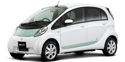 Mitsubishi i-MiEV goes into production