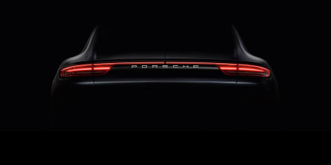 2017 Porsche Panamera teaser video reveals 911-inspired rump