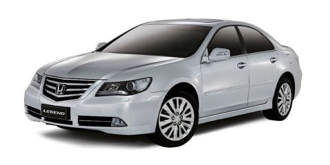 Honda Legend: no new model for Australia