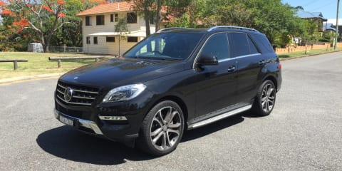 Mercedes-Benz ML 350 Review: LT2