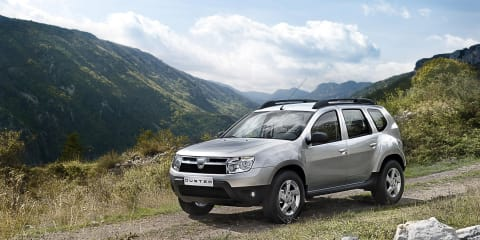 2010 Dacia Duster for emerging markets