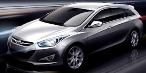 2012 Hyundai i40W sketches revealed ahead of Geneva debut