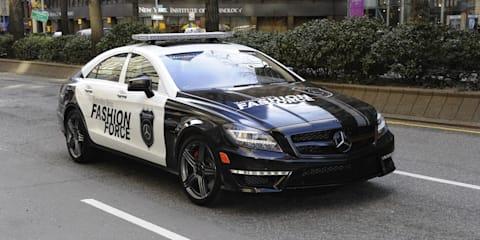 2012 Mercedes-Benz CLS63 Fashion Force patrol car