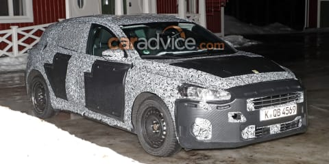 2018 Ford Focus exterior and interior spied