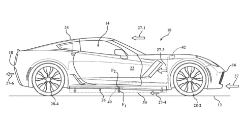 GM patents three active aero technologies