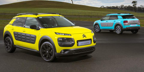 2016 Citroen Cactus colour choices captivate customers
