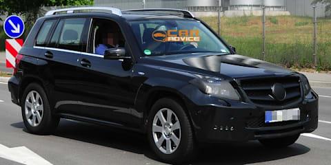 2012 Mercedes-Benz GLK-Class spied