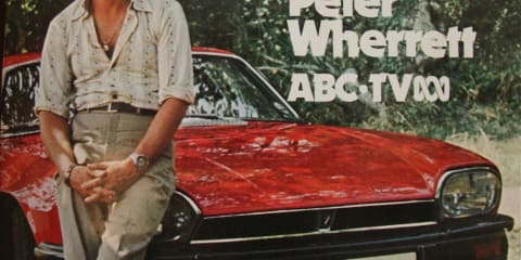 Peter Wherrett, world's first TV motoring presenter, dies at 72.