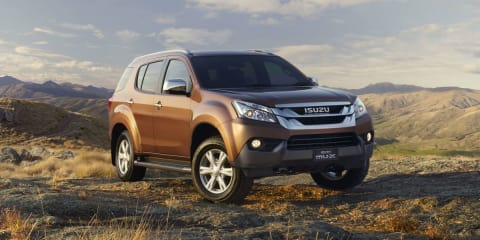 Isuzu MU-X: ute-based SUV on sale in December from $40,500