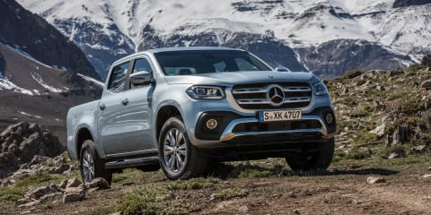 2018 Mercedes-Benz X-Class pricing and specs