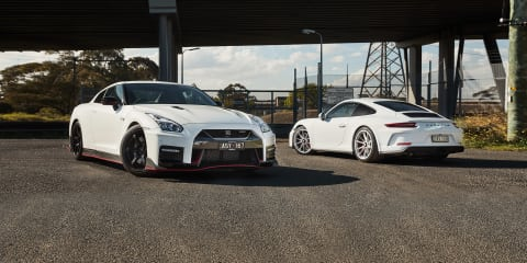 REVISIT: 2018 Nismo GT-R v Porsche 911 GT3 Touring comparison