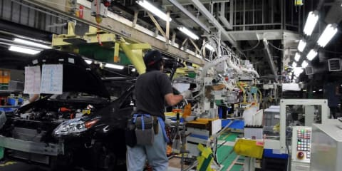 Toyota set to realign its Japanese manufacturing operations