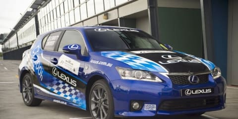2011 Lexus CT 200h to launch at Australian F1 Grand Prix