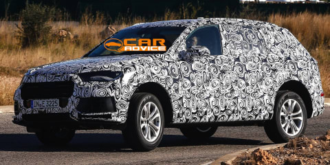 2015 Audi Q7: second-gen luxury SUV spied up close