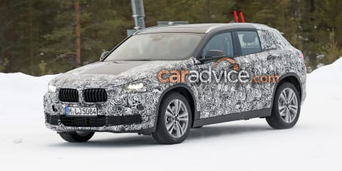 2018 BMW X2 spied at the snow
