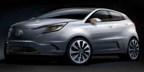 Ssangyong KEV2 Concept to be unveiled at 2011 Seoul Motor Show