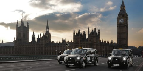 Metrocab's range extended electric taxi begins service on London's streets