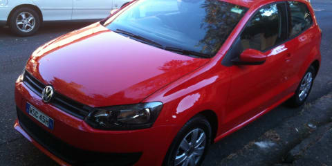2010 Volkswagen Polo spy photos, spotted in Sydney this morning
