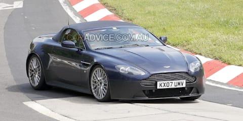 Aston Martin V12 Vantage RS Roadster spied