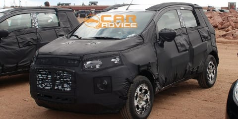 Ford Fiesta SUV spy shots
