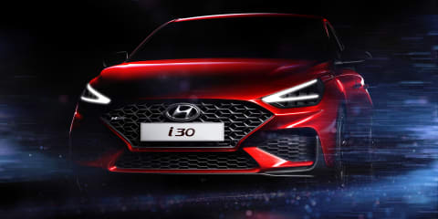 2021 Hyundai i30 facelift teased