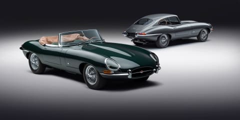 Jaguar reveals new E-Type 60 Collection coupe and roadsters