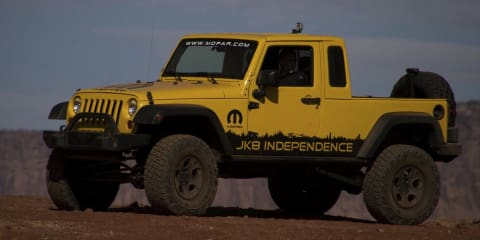 Jeep Wrangler JK8 Independence package - video