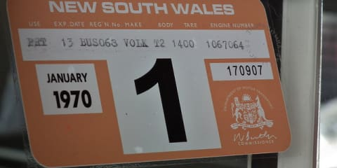 NSW abolishes rego stickers from 2013