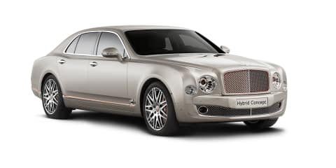 Bentley Hybrid : Mulsanne-based plug-in concept previews future SUV powertrain