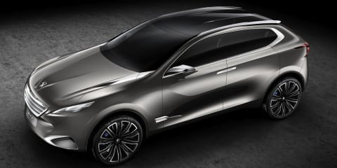 Peugeot SXC Crossover Concept revealed before Shanghai show
