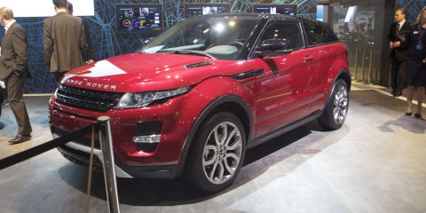 2011 Range Rover Evoque at Australian International Motor Show 2011