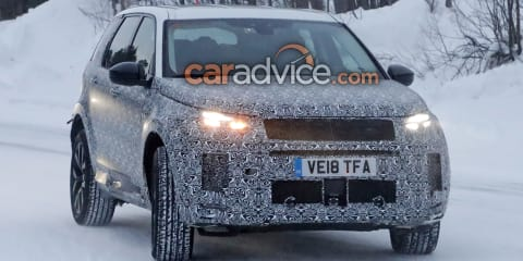 2020 Land Rover Discovery Sport spied