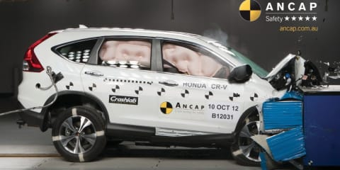 Toyota Corolla, Holden Colorado 7, Honda CR-V headline latest five-star ANCAP safety results
