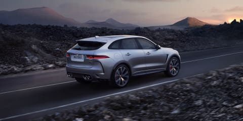 Jaguar F-Pace SVR to go on sale in June