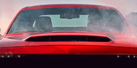 "That sucks: Dodge Demon gets massive ""Air Grabber"" bonnet scoop"