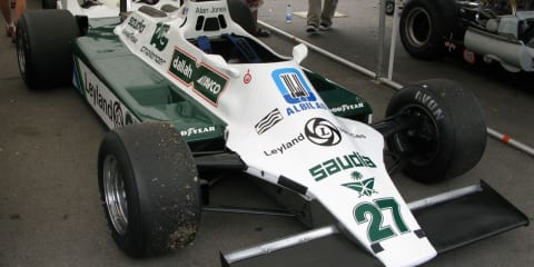 Alan Jones' F1 Winning Car for Sale