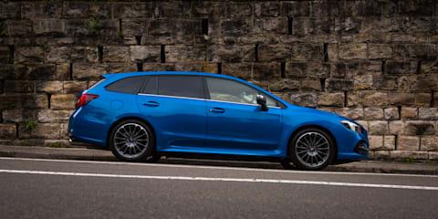 2018 Subaru Levorg 2.0 STI Sport review