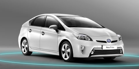 2012 Toyota Prius facelift coming to Australia first half of 2012