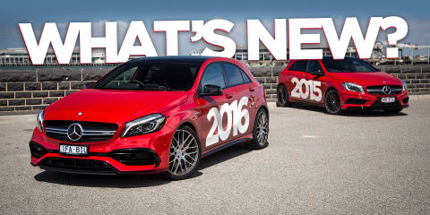 2016 Mercedes-AMG A45 v 2015 Mercedes-Benz A45 AMG: What has changed?