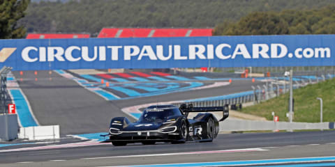 Volkswagen ID R getting ready for the Nurburgring