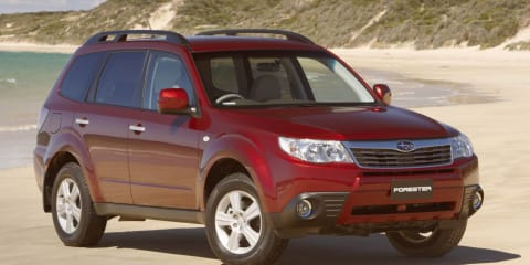 2009 SUBARU FORESTER XT PREMIUM Review