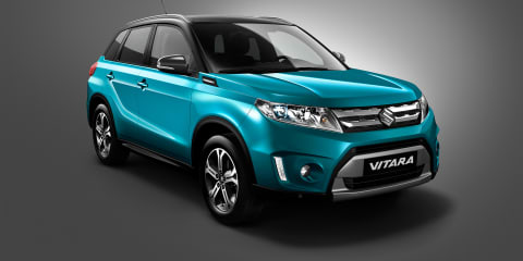 Suzuki Vitara revealed ahead of Paris debut