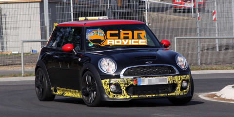 Mini JCW GP spy shots