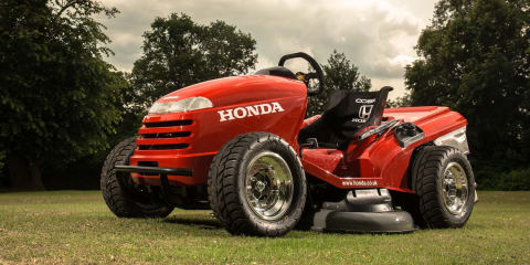 Honda Mean Mower: world's fastest lawn mower does 0-100km/h in 4sec