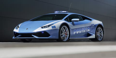 Lamborghini Huracan donated to Italian State Police fleet