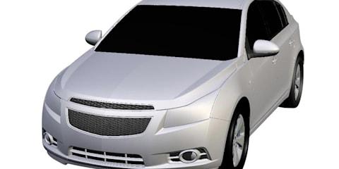 2011 Holden Cruze hatchback patent images revealed