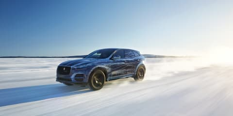 Jaguar F-Pace tested to extremes, previewed ahead of Frankfurt premiere