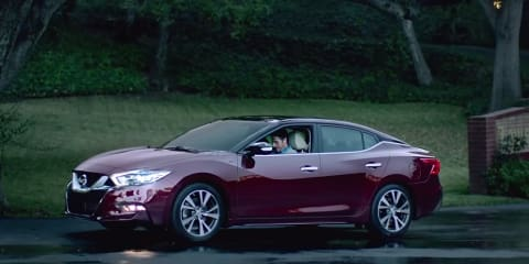 2016 Nissan Maxima revealed in Super Bowl advertisement - UPDATE