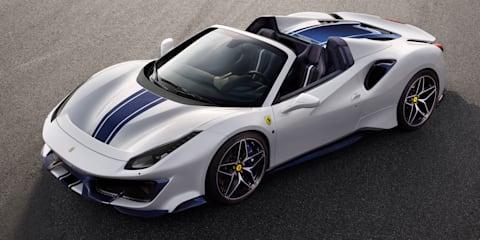 2019 Ferrari 488 Pista Spider unveiled