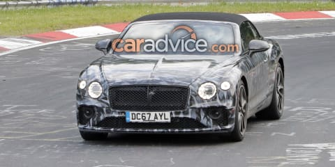 2019 Bentley Continental GTC spied again